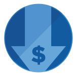 symbol of low fees